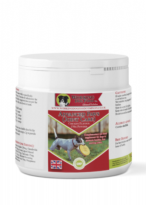 Advanced Paws (Joint Care) Powder 150g